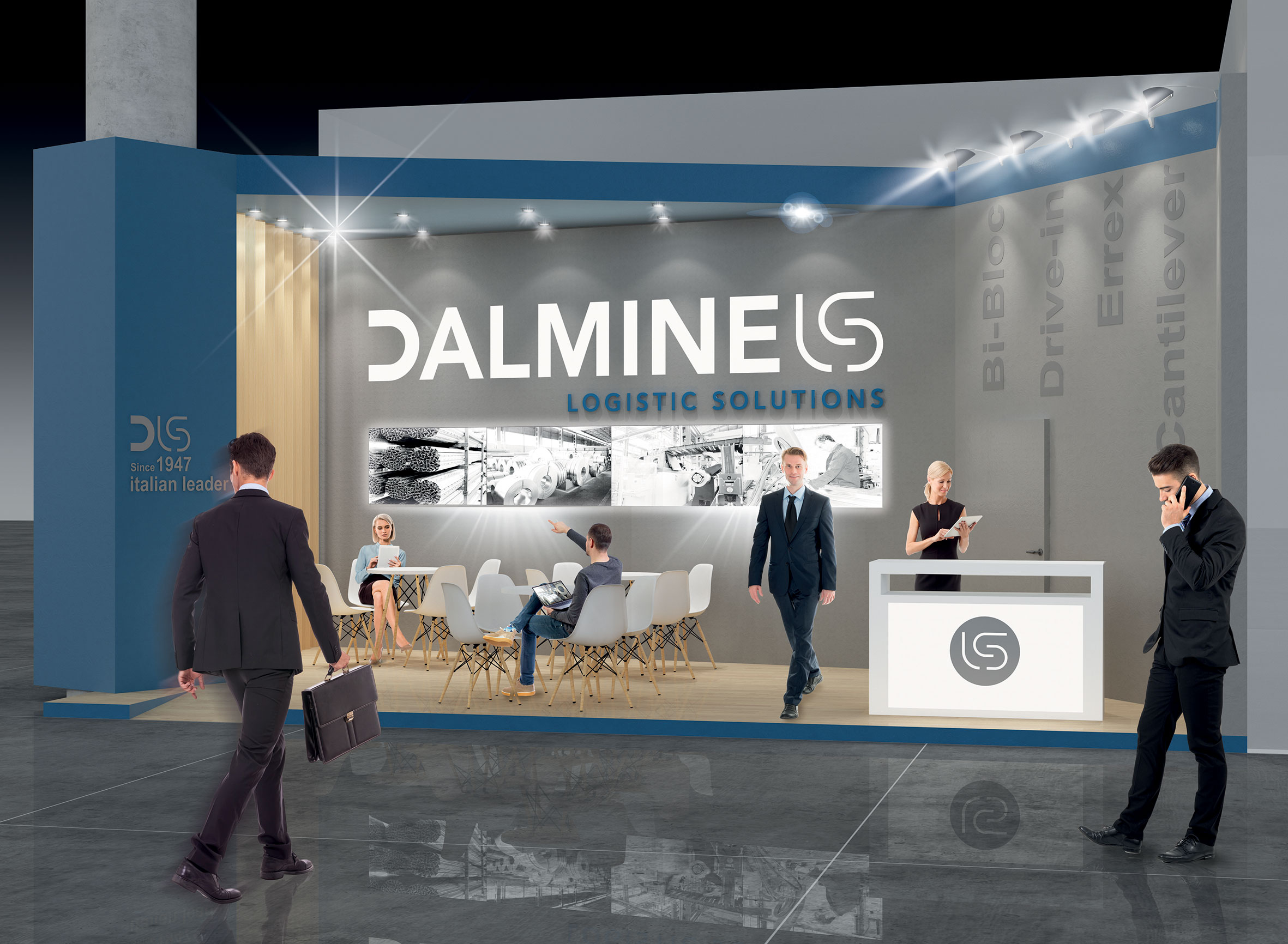 SC-Studio-Chiesa-Communication_Logistica-DLS-Dalmine-Logistic-Solutions-exhibition